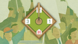 Baseball Diamond 50%